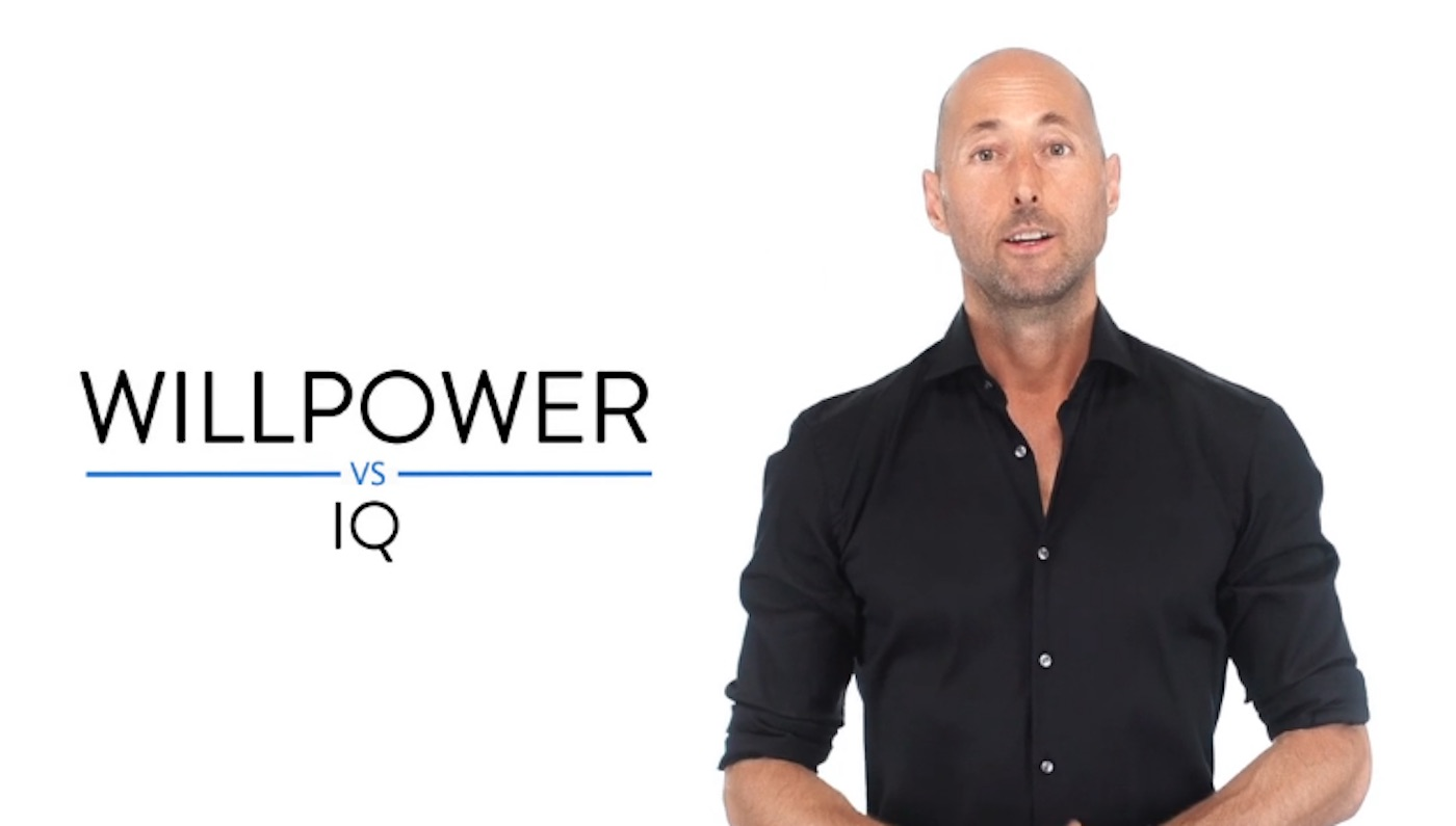 IQ vs. Willpower: One is a Much Better Predictor of Success
