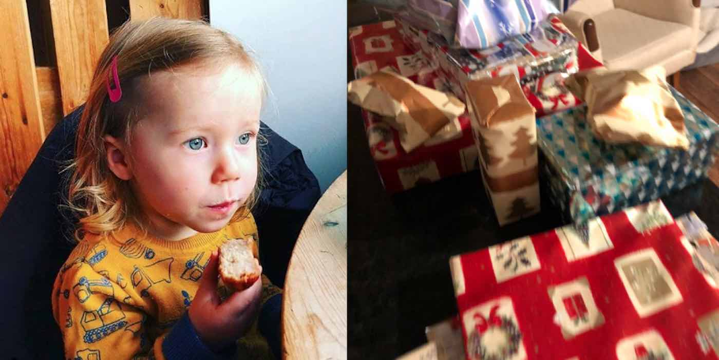 Dying 86-Year-old Bought 14 Years Worth of Christmas Gifts for His 2-Year- old Neighbor 2