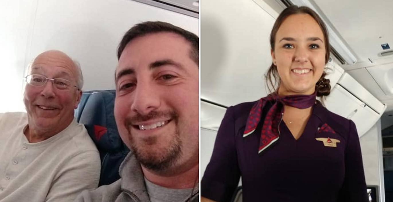 Father flies on several flights to spend time with daughter on Christmas