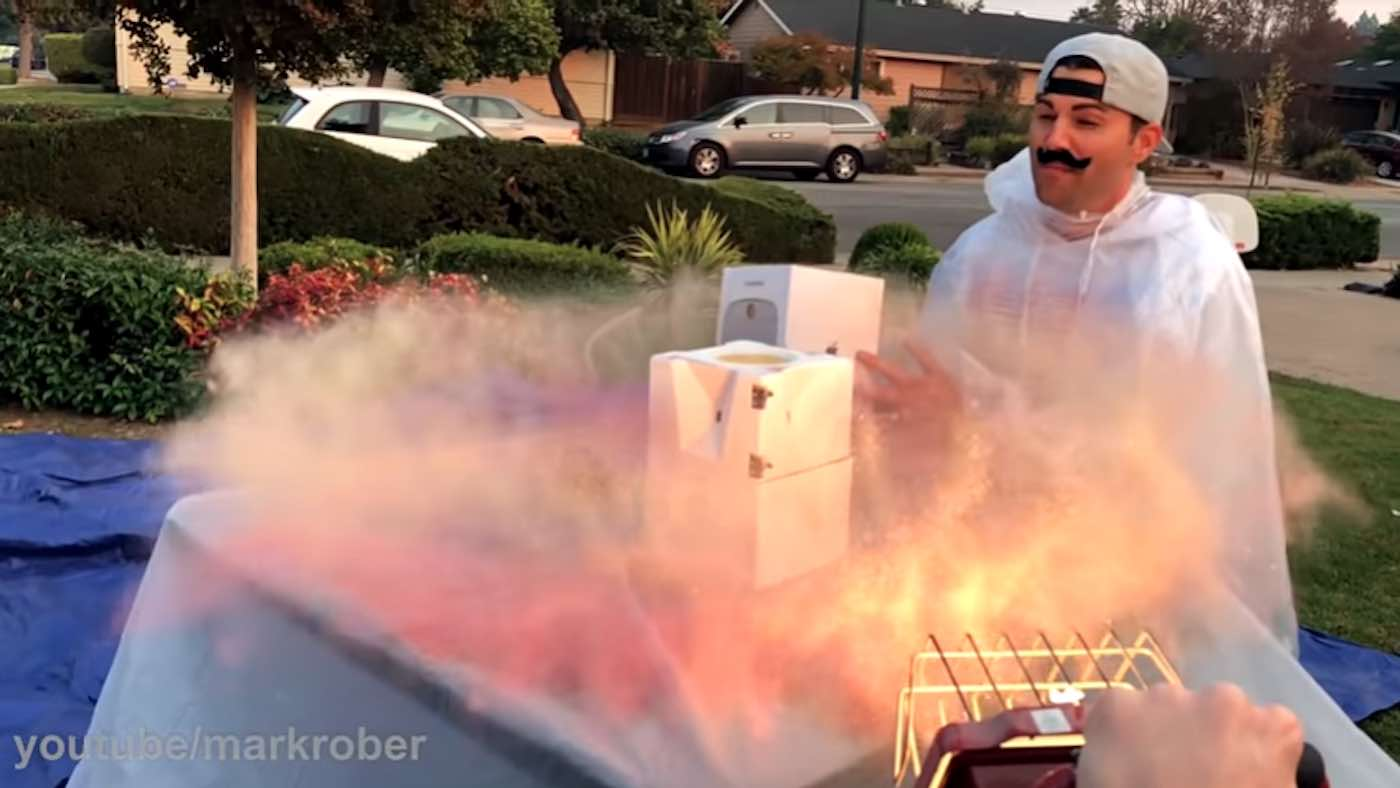 Watch Ex-NASA Engineer Design Glitter Bomb Trap as Revenge