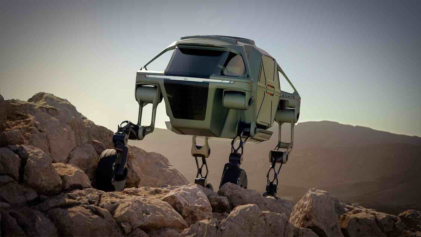 New 4-Legged Concept Car Could Change the Game for Emergency