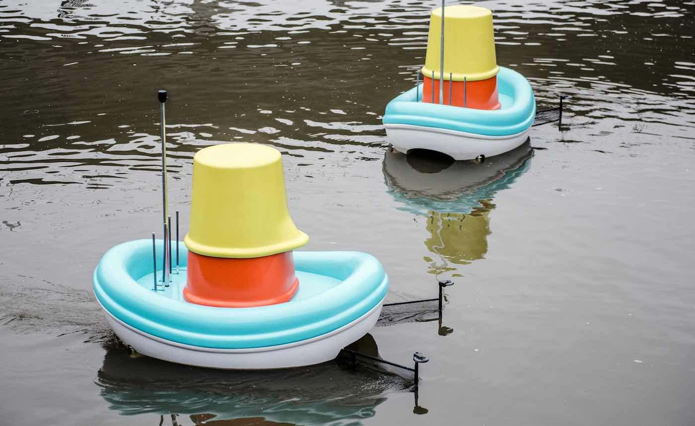 Jones and Company - IKEA BATH BOATS HELP CLEAN UP WATERWAYS
