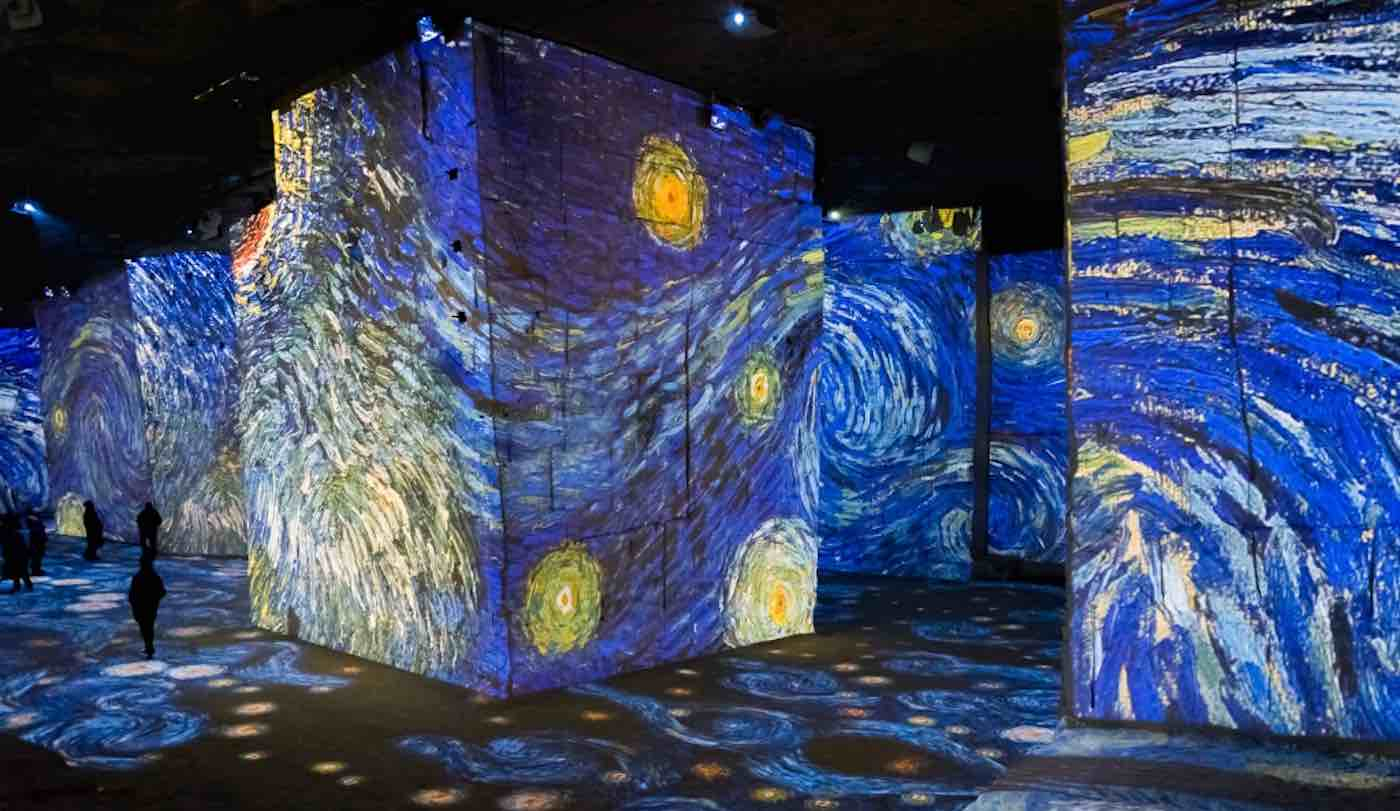 Walk Through This Giant Stunning Exhibit Where Van Gogh's Artwork Comes to Life in Light