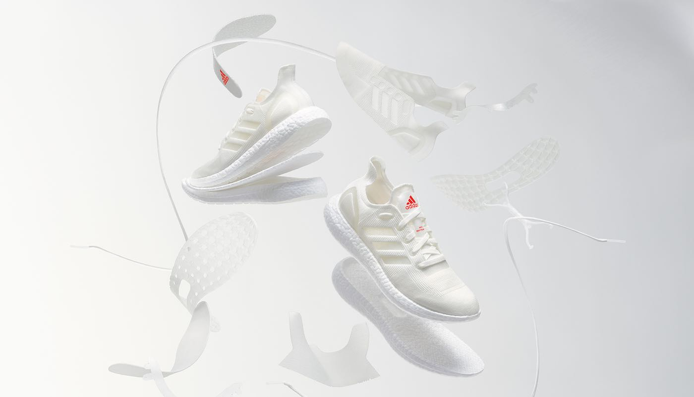 Adidas Ensuring That All Their Shoes Can Be 100% Recycled into New Ones Without Any Waste