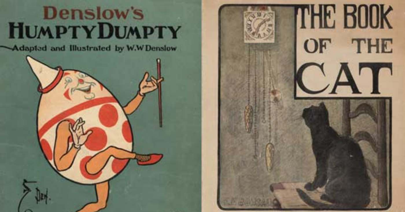 Denslow's Humpty Dumpty and The Book of Cat