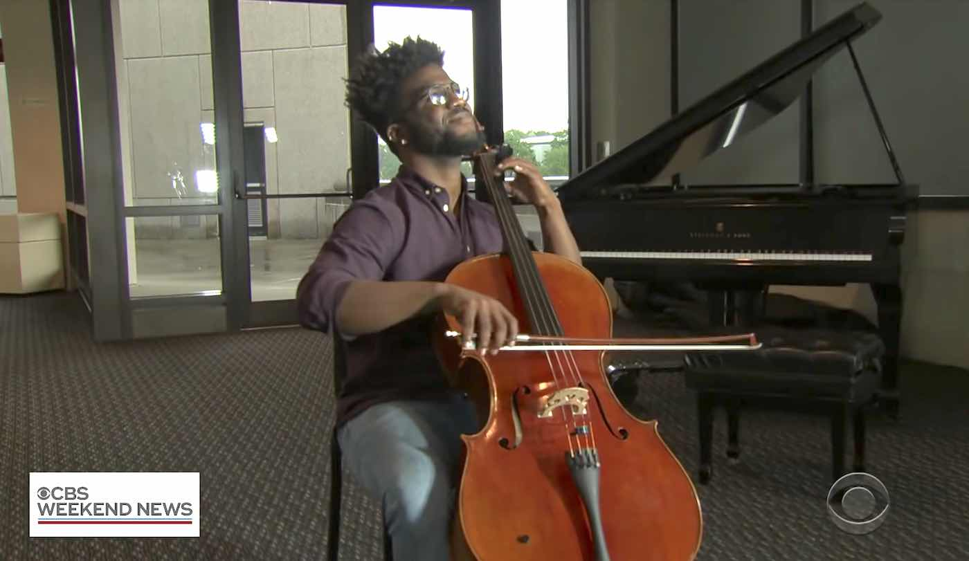 When the World Hears About Cello Prodigy Living in Poverty, it Sends a Crescendo of Blessings