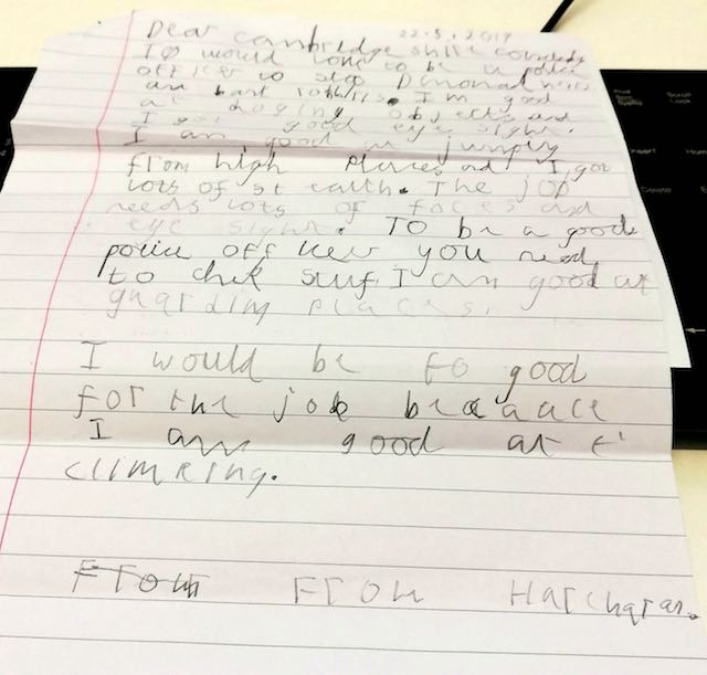Read the Adorable Job Application That a 7-Year-old Boy Sent