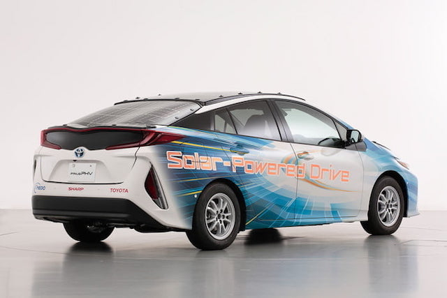 Toyota is Now Testing New Prius That Uses Ultra-Thin Solar Panels to