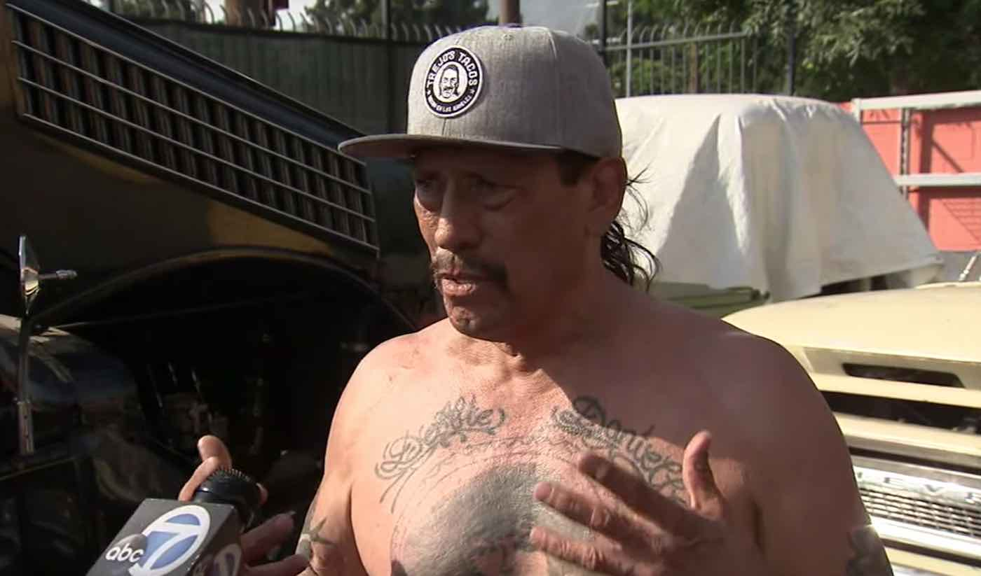 Listen to Actor Danny Trejo Describe How He Helped Rescue Special Needs Boy From Overturned Car