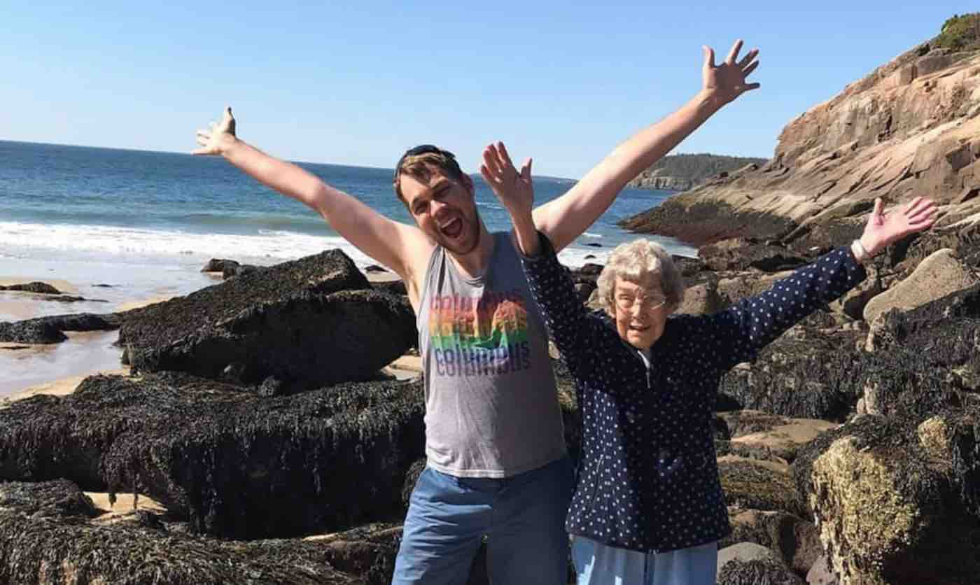 When Grandma Confesses She Has Never Seen the Ocean, Grandson Takes Her On Epic Cross-Country Trip