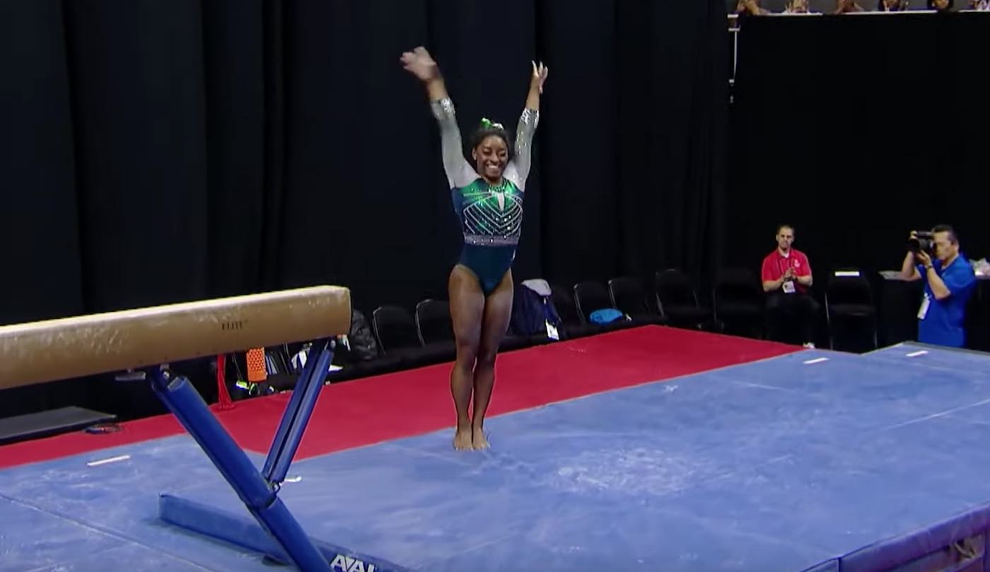 Simone Biles Just Became First Gymnast to Land Double-Double