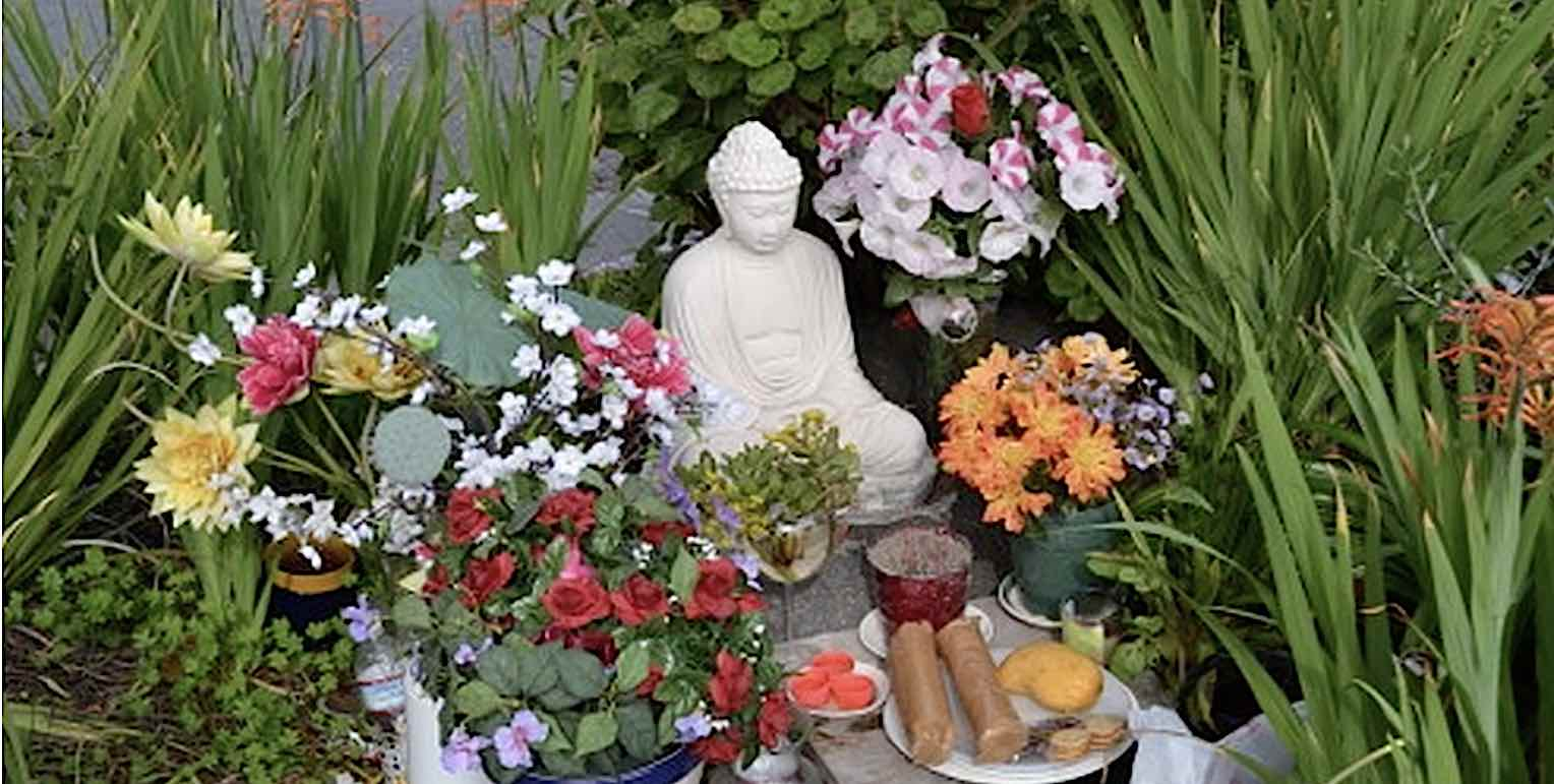 When Man Got Sick of Trash and Crime, He Bought Buddha