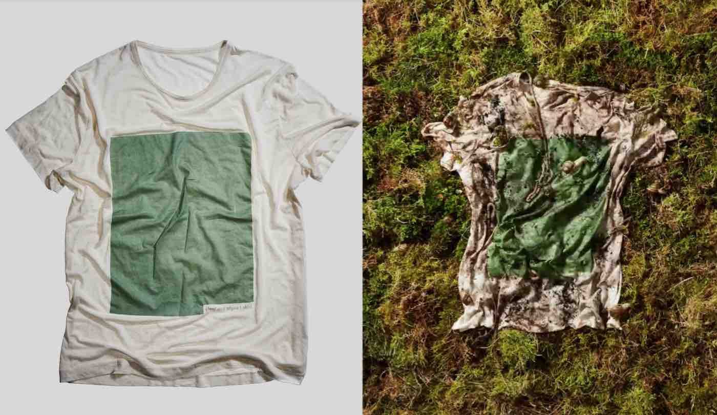 non fare annerire Revisione  These Comfy T-Shirts Made From Wood and Algae Can Be Composted Once You're  Done With It