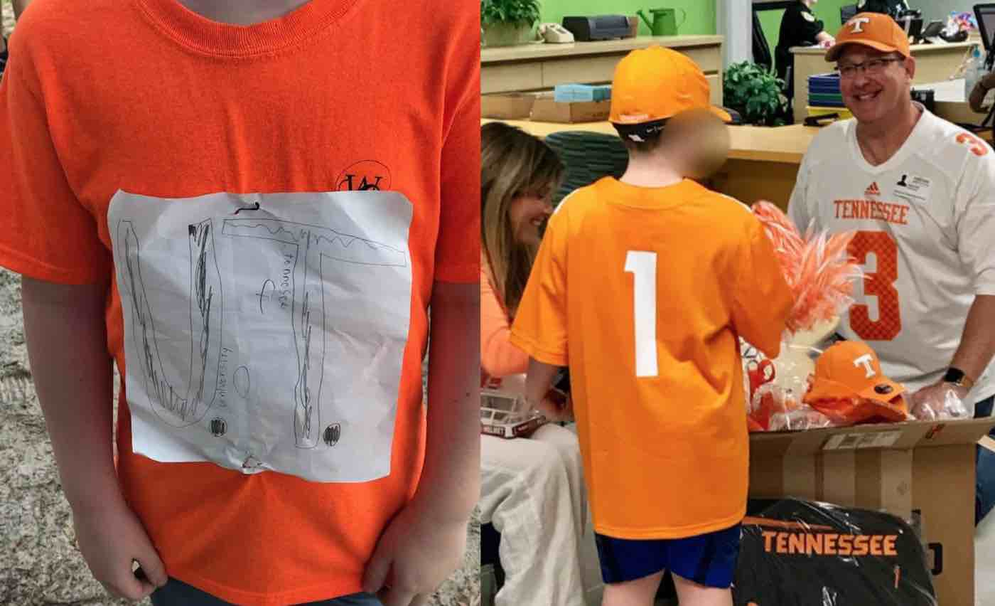 After University Starts Selling Bullied Boy's Homemade T