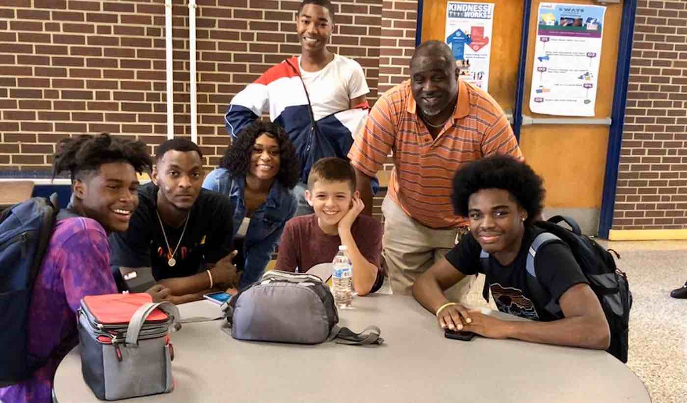 After Bullied Boy Has Terrible First Day of School, Upperclassmen Take Him Under Their Wing