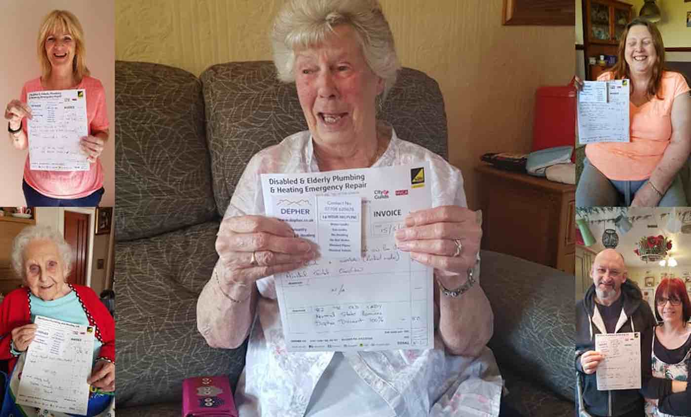 Plumber praised for fixing boiler of pensioner, 91, with leukaemia for free