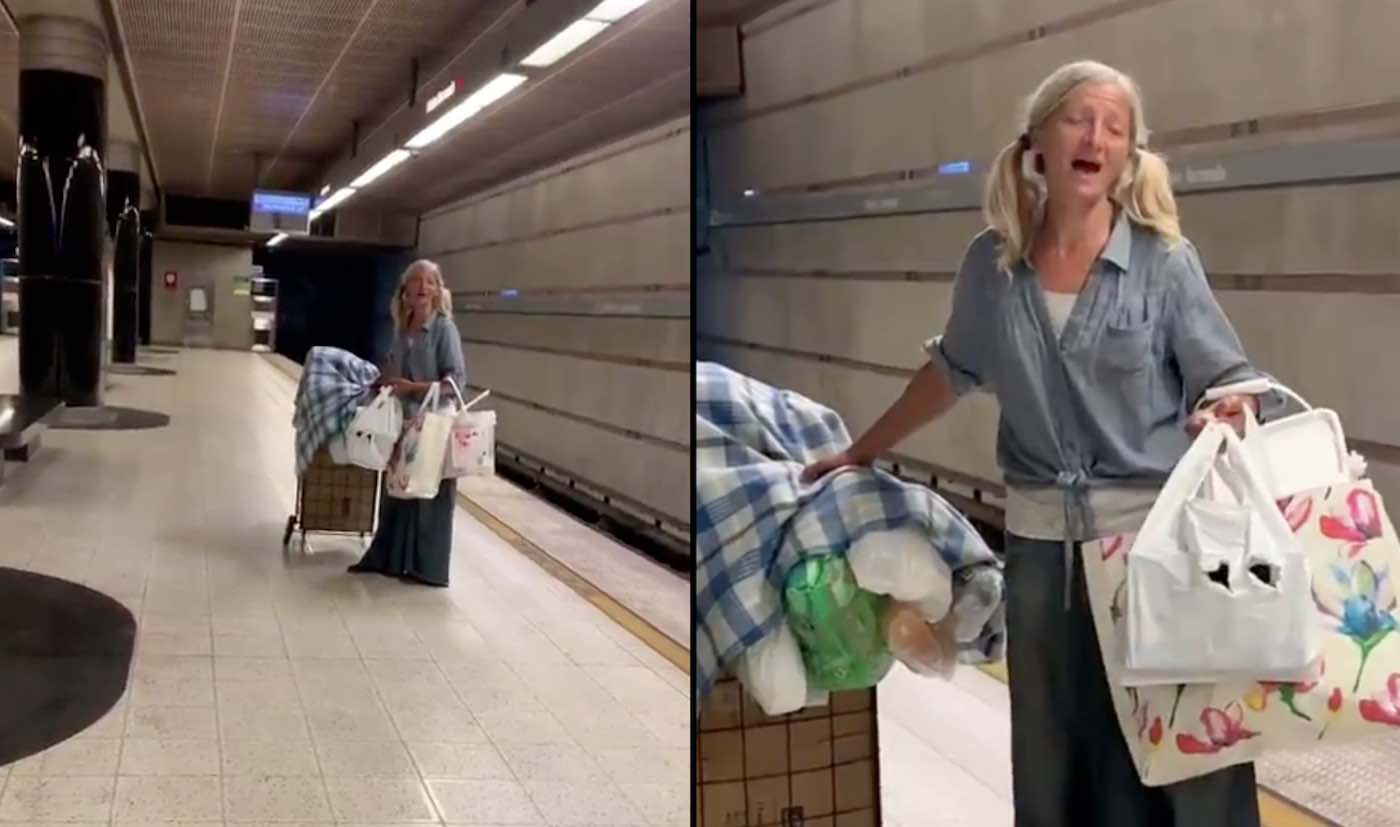 Who Is the Homeless Woman Who Sang Beautiful Subway Solo?