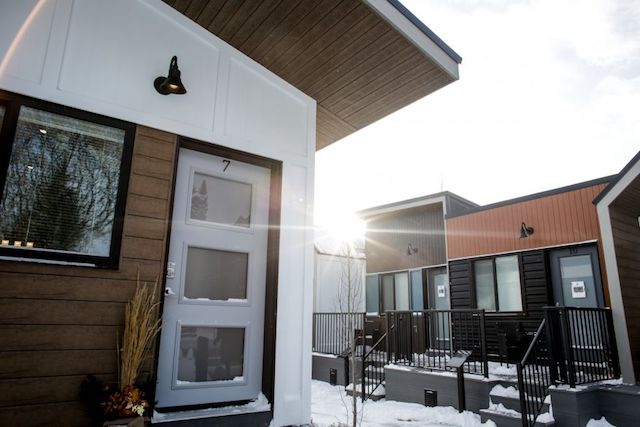 Canada Now Has Its First Ever Tiny House Village for Homeless Veterans