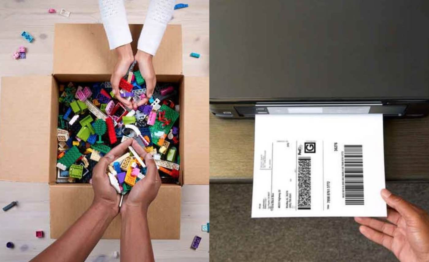 LEGO is Now Offering to Pay For You to Ship Your Unused Bricks to Children in Need