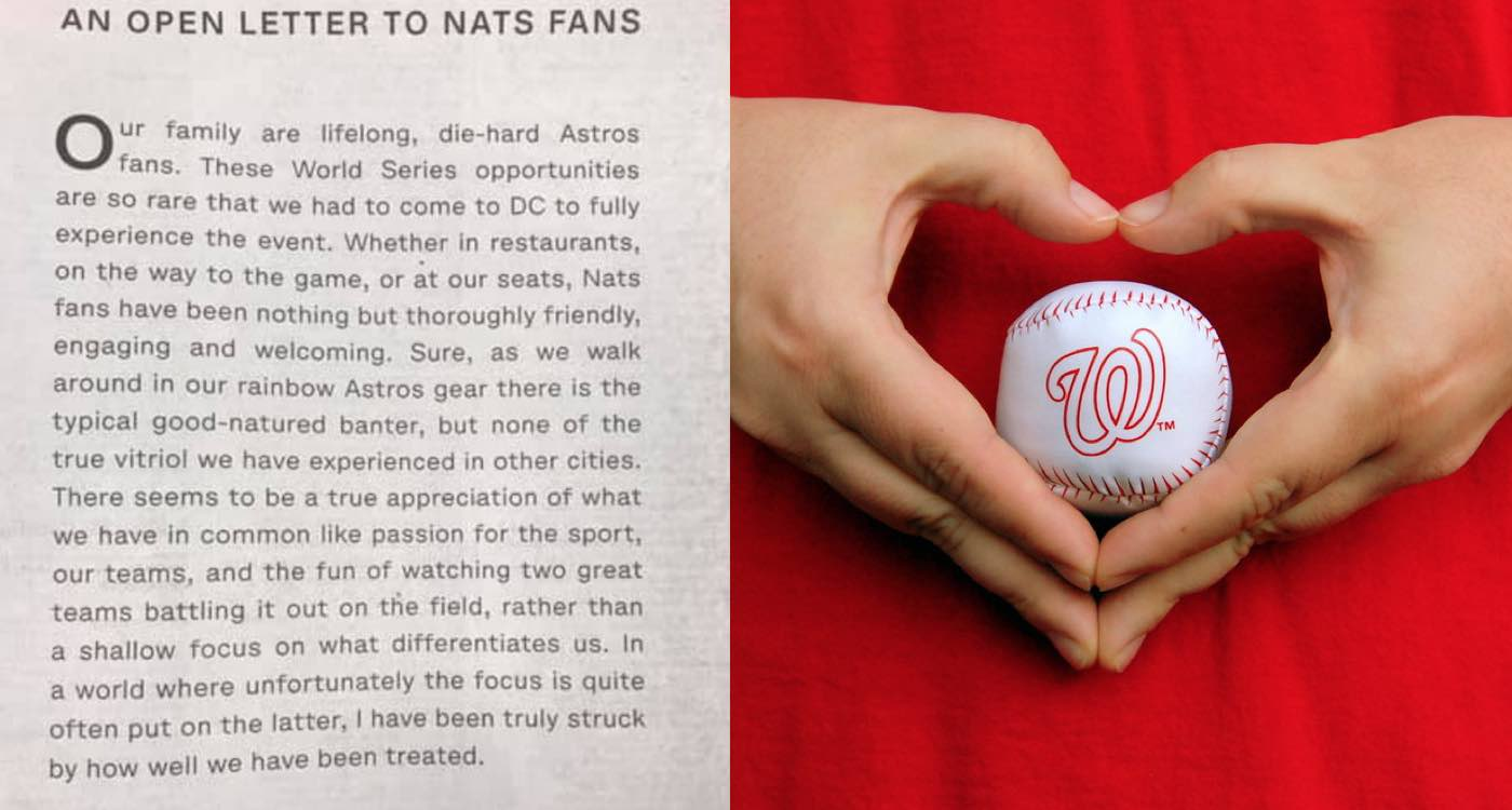 Washington Nationals overcome odds to win first World Series