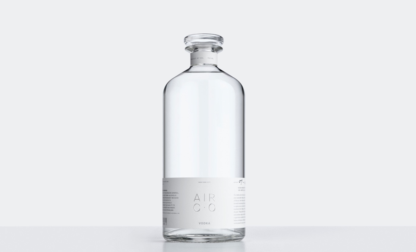 This Carbon-Negative Vodka is Brewed 'From Thin Air' Using Solar Power, Water, and CO2