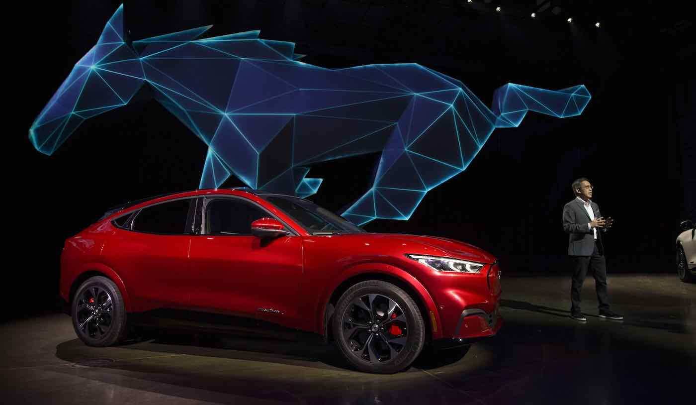 Ford Electric Car >> Mustang Unveils Its First Ever Electric Car With New Suv