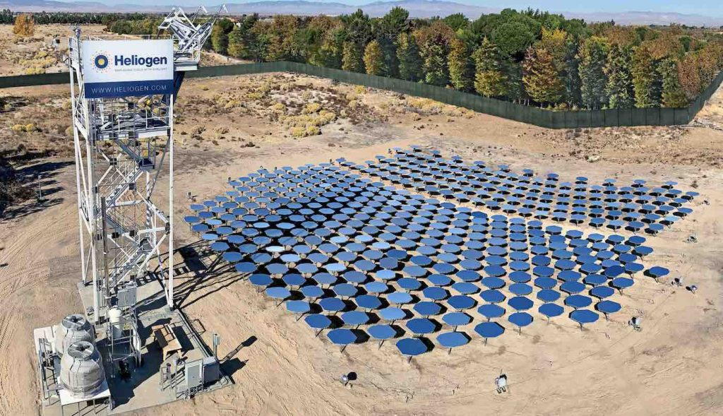 Bill Gates-backed start-up Heliogen pushes solar thermal forward
