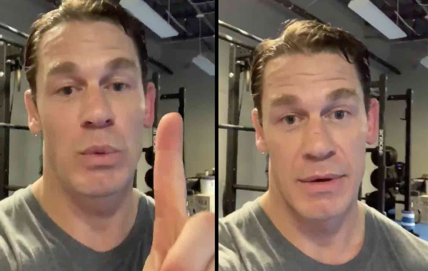 John Cena Donates 500k To California Firefighters And Gets