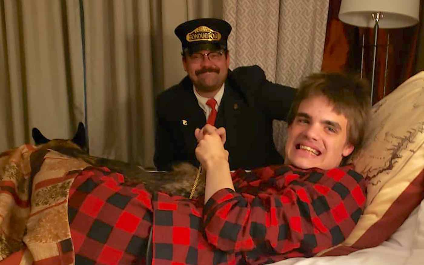 After Teen With Autism Misses Train Ride, 'Polar Express' Crew Gives Him the 'Gift of Human Kindness'
