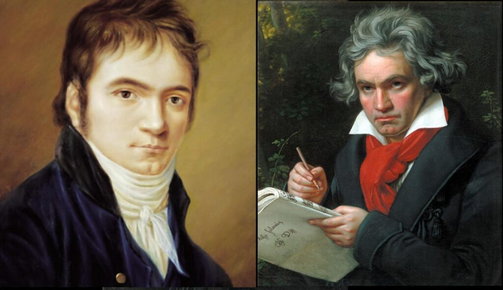 This image has an empty alt attribute; its file name is Beethoven-in-1803-and-1820-1024x592.jpg