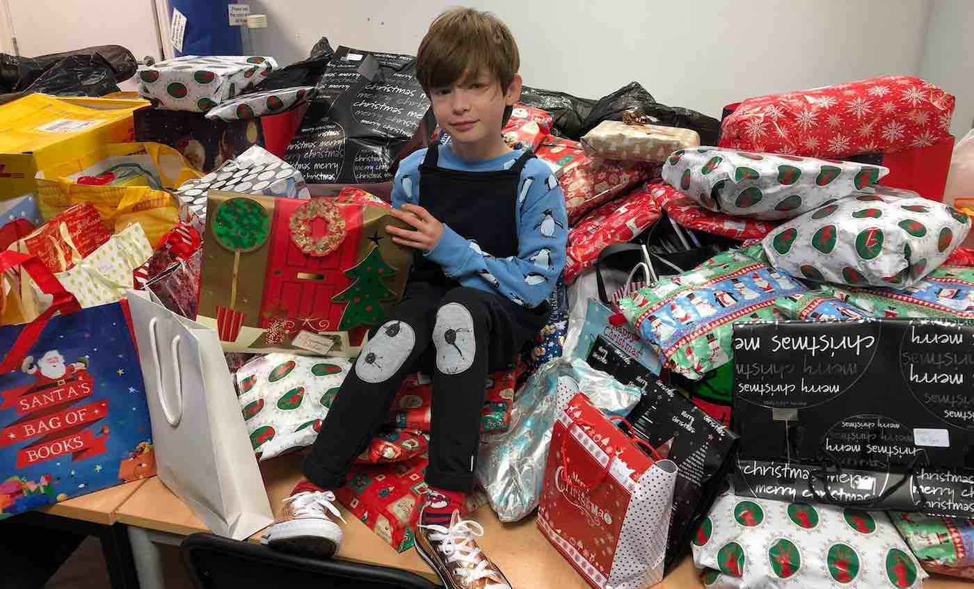 10-Year-old Donating Hundreds of Pajamas and Books for Children In Shelters