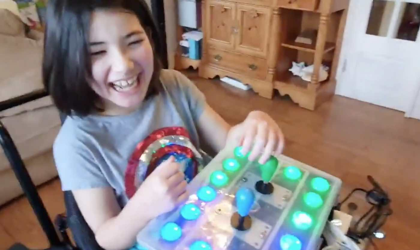 Dad Builds Adapted Nintendo Controller for Disabled Daughter—And Her Reaction is Adorable
