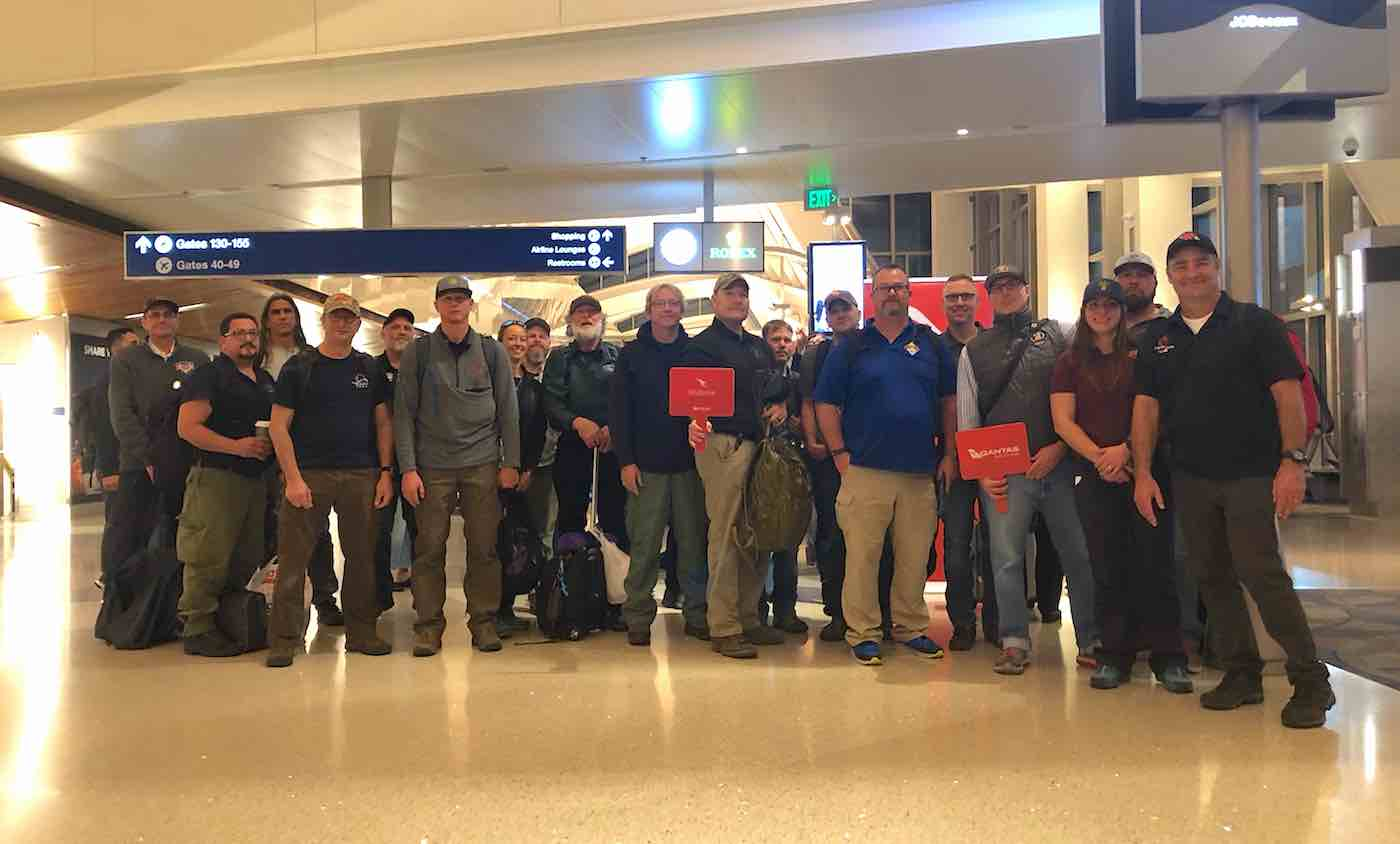 Image result for 200 volunteer firefighters head to australia