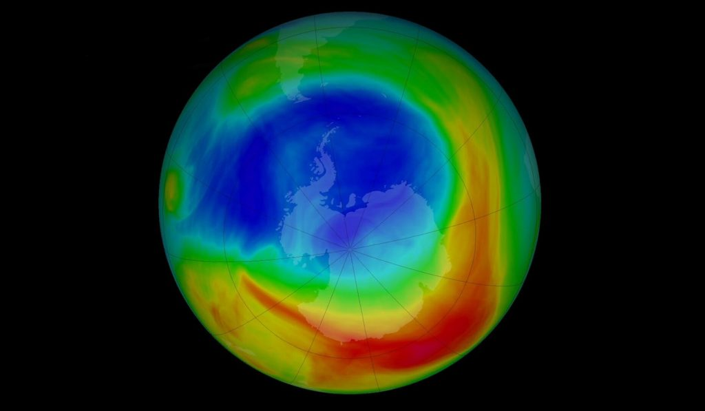 Earth's Ozone Layer Continues To Heal