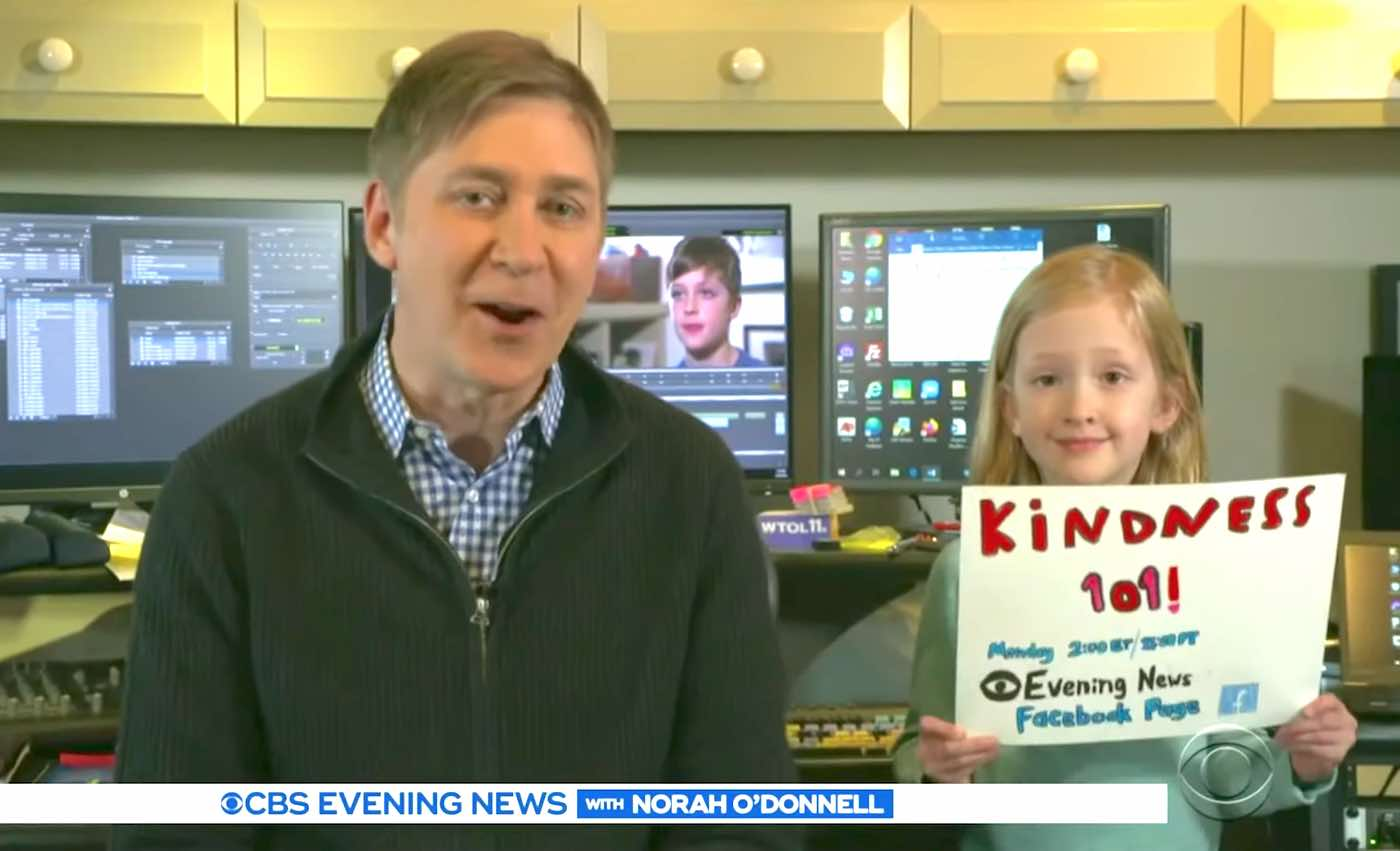 Beloved TV Reporter Broadcasts From Home to Help Children With Mr ...