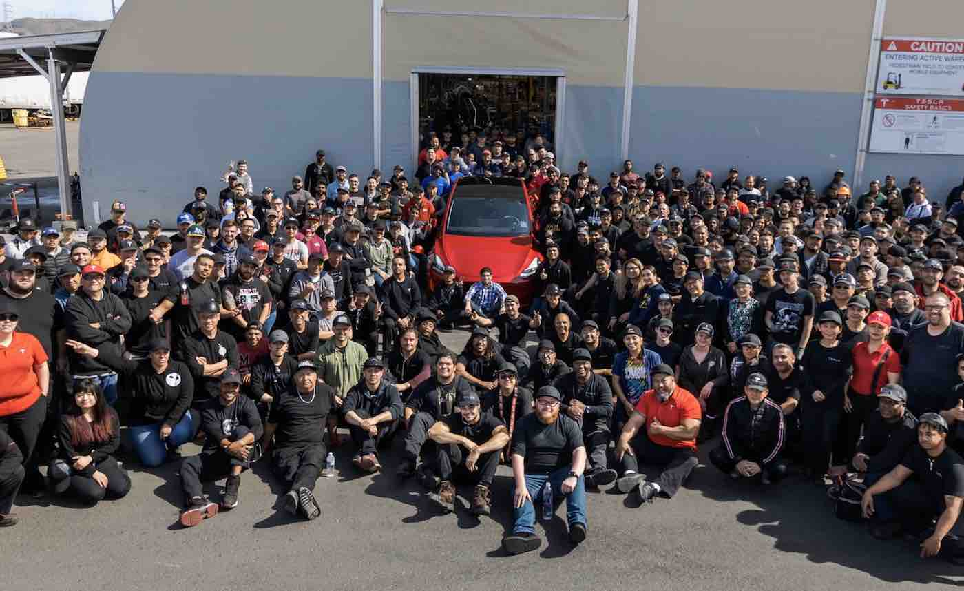 Tesla's one millionth vehicle  is a Model Y