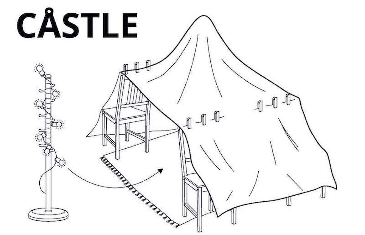 Ikea Released Instructions On How To Build The 6 Best Blanket Forts For Your Home Quarantine