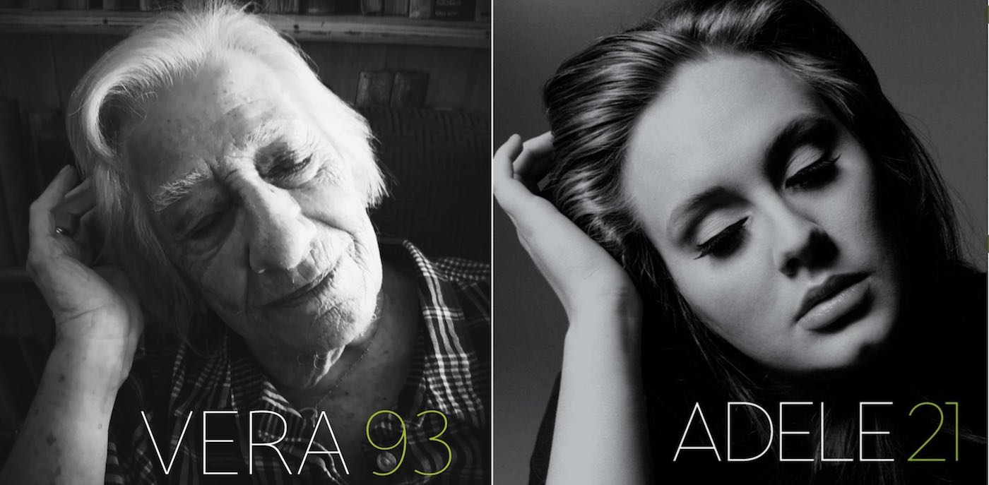 Adele 21 recreated by care home
