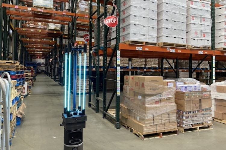 MIT Scientists Design Autonomous UV Robot That Can Disinfect Boston Food Bank in Just 30 Minutes