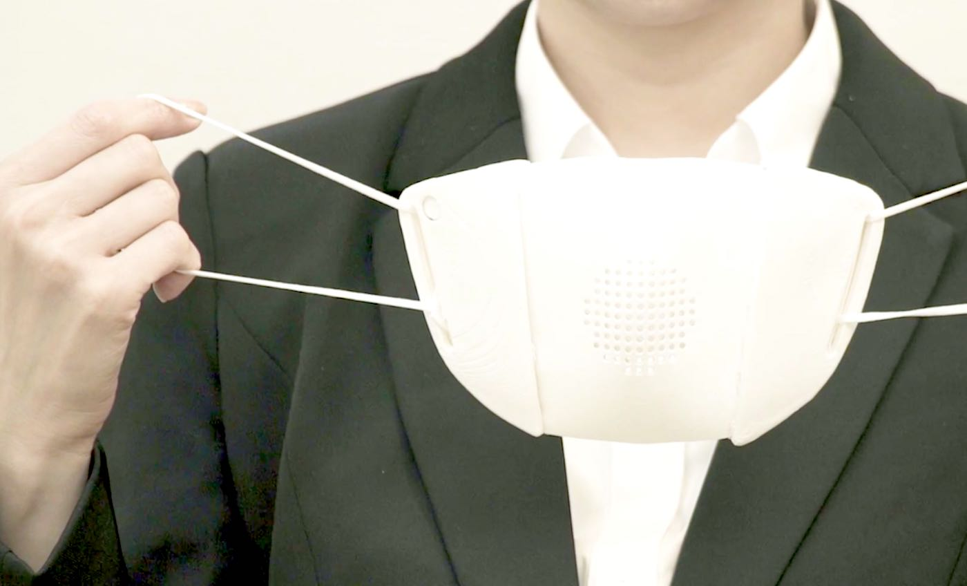This Inexpensive New Smart Mask Can Amplify the Speaker's Voice and Translate Speech into 8 Languages