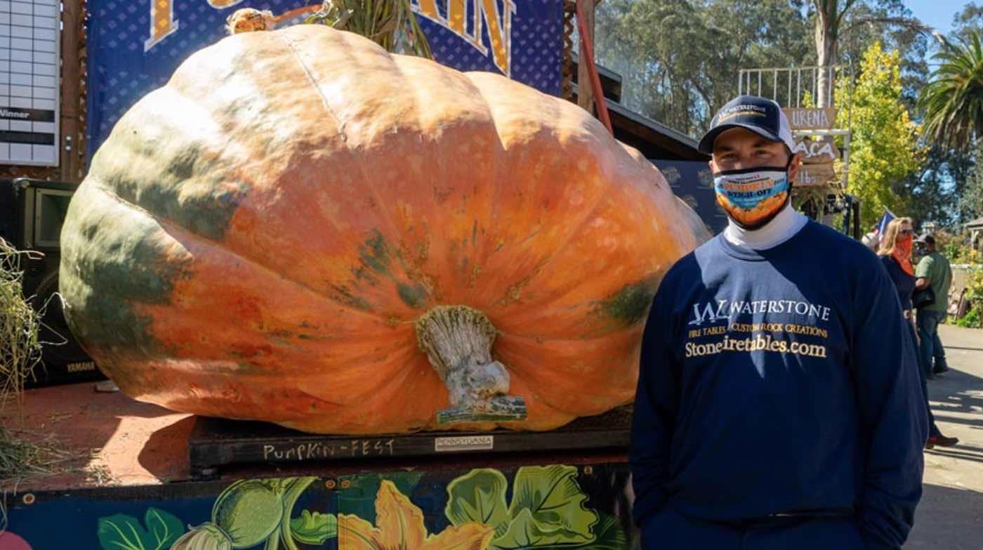 America's largest pumpkin