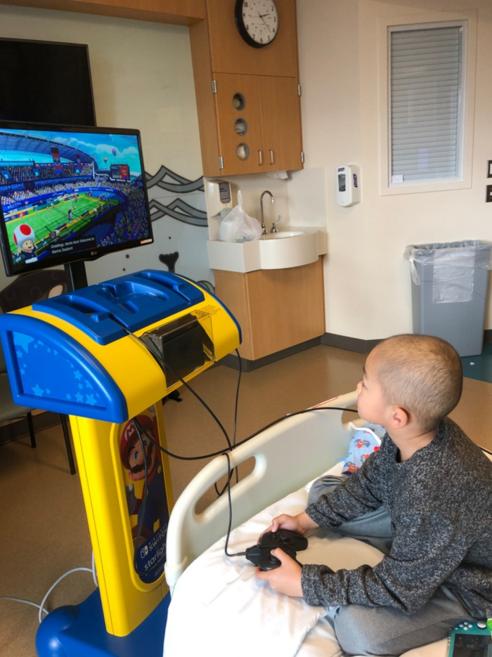 Nintendo and Starlight Create Gaming Consoles for Hospitalized Kids