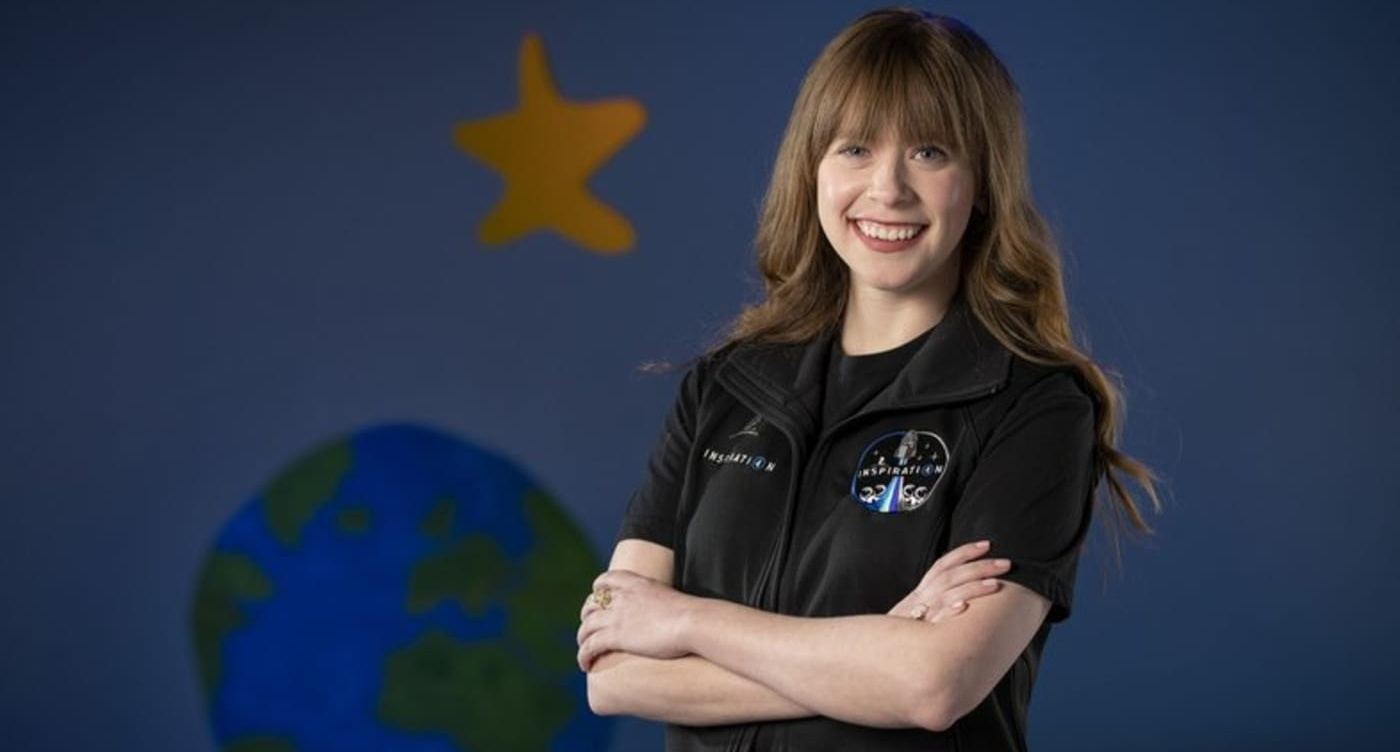 Hayley Arceneaux, child cancer survivor who became a PA at St. Jude's where she was treated, is now to be the youngest person to enter space.