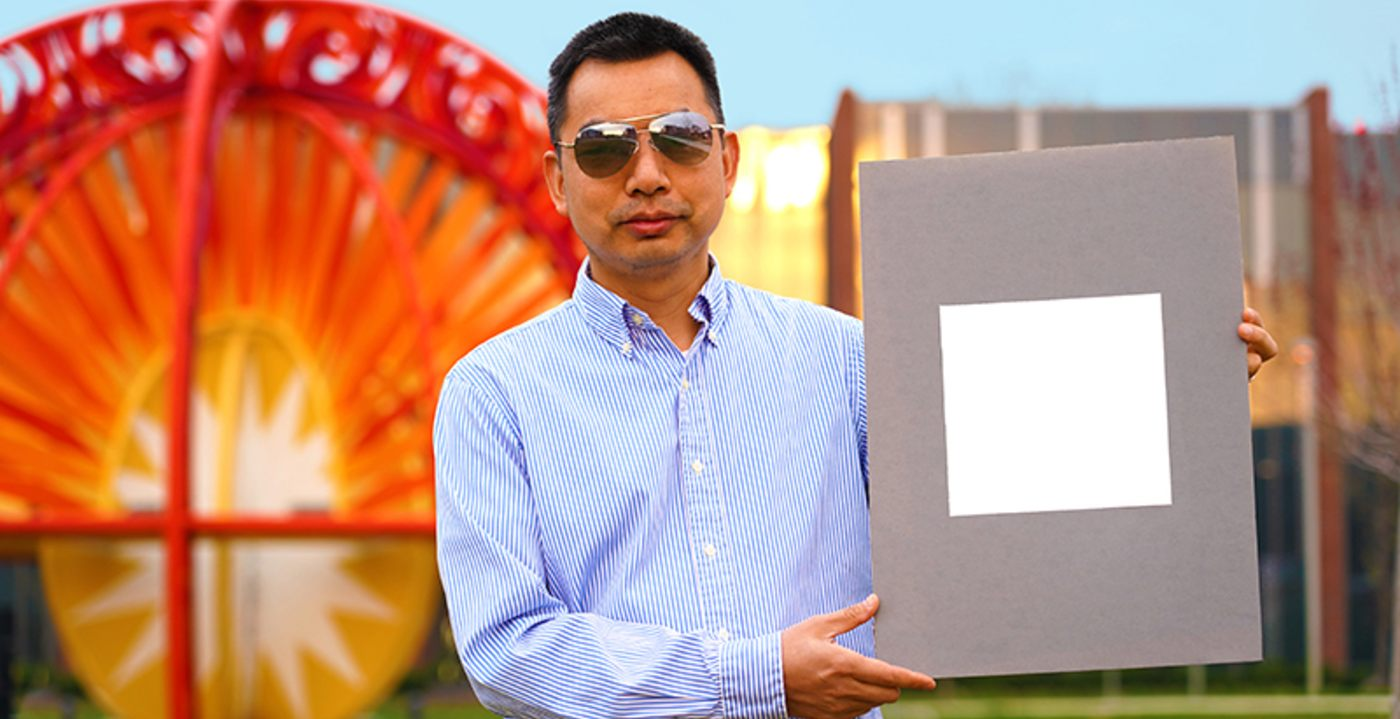 Coating buildings with this paint could cool them enough to reduce the need for air conditioning