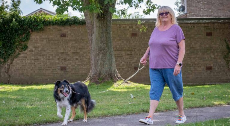 Woman Surprised to Learn About Dog's Blindness since he can Navigate Through Obstacles