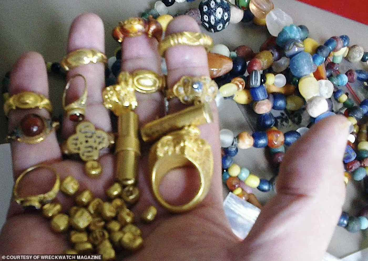 A Lost Sunken City of Gold and Jewels Found in the Mud of Indonesian River